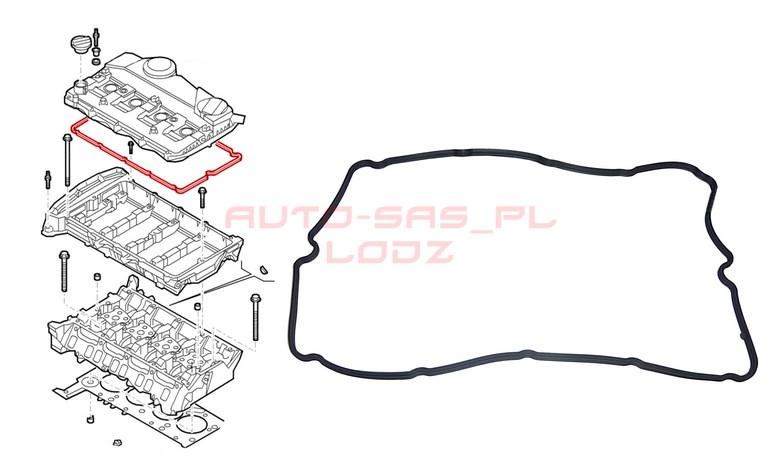 Uszczelka Pokrywy Zaworw Ducato Jumper Boxer 2 2